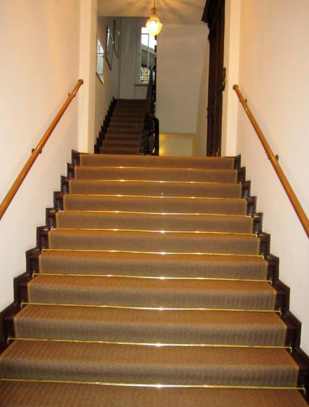 Treppe kokos ks bodenbelagsarbeiten gmbh berlin kreuzberg for Sisal treppe