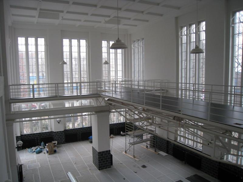 linoleum loft im alten wasserwerk ks bodenbelagsarbeiten gmbh berlin kreuzberg. Black Bedroom Furniture Sets. Home Design Ideas