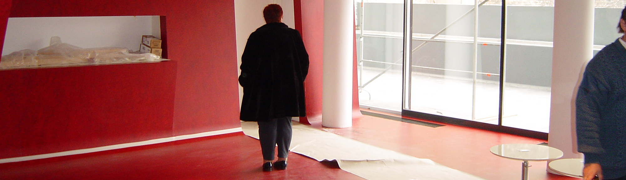 Linoleum designhotel q ks bodenbelagsarbeiten gmbh for Designhotel q